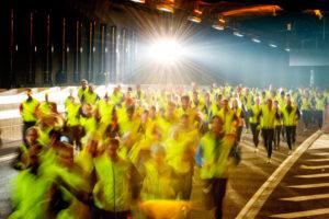 Löpare i konkurrens och tävlan
