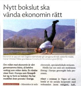 Artikel i JAKs medlemstidning om ECG