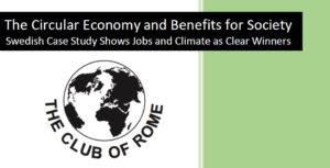 Omslaget till rapporten 'The Circular Economy'